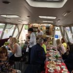 Delicious Afternoon Tea on the Inishcruiser
