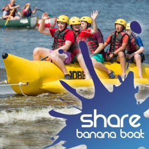 banana boating share