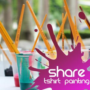 Share Discovery T-shirt Painting