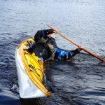 Boat capsizing at Greenland Games