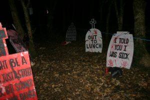 Halloween Graveyard at SHARE