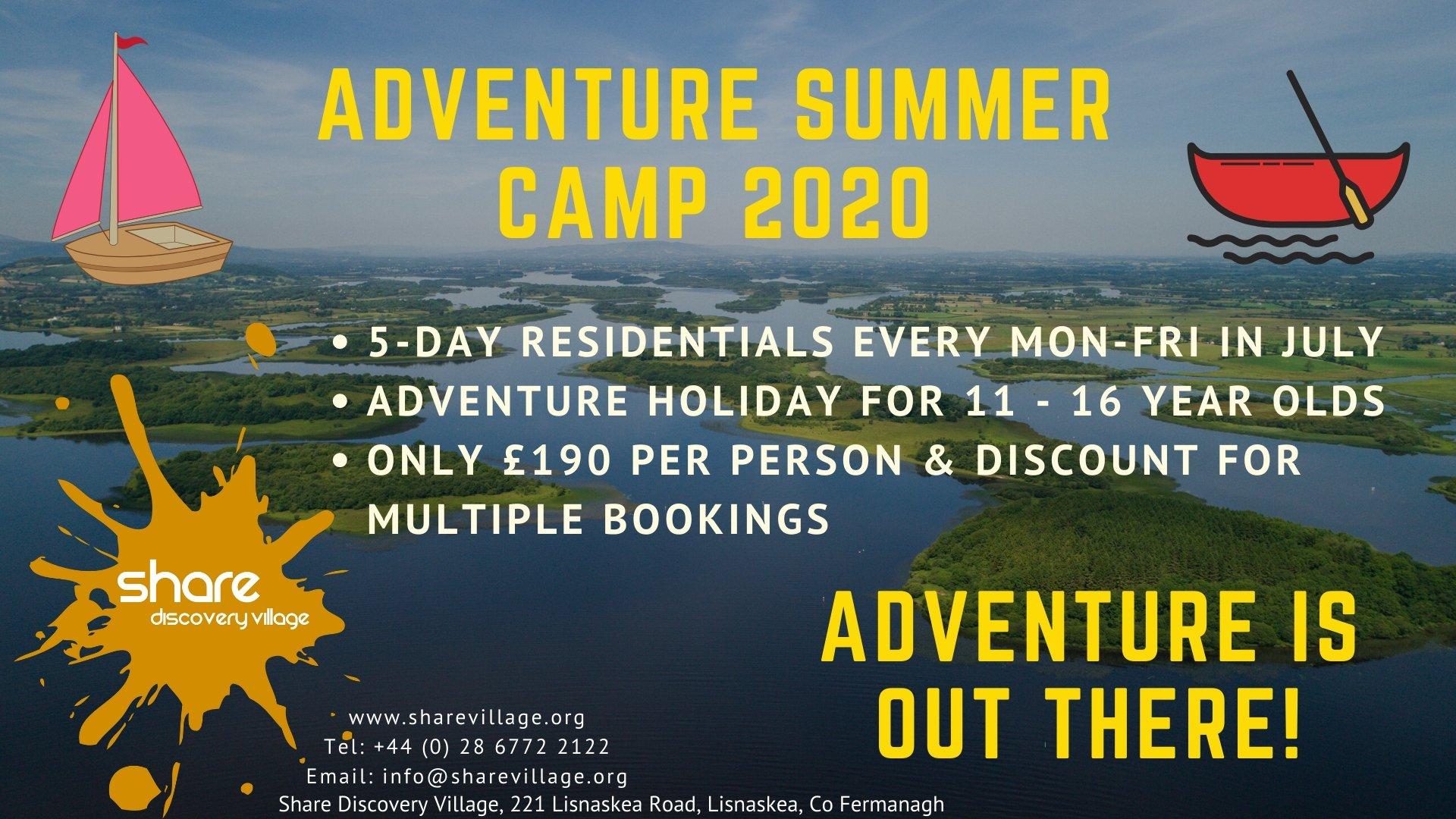 July Adventure Summer Camp