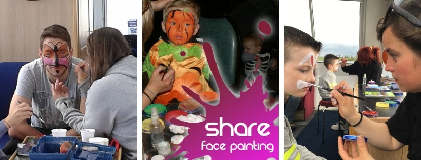Face Painting at Share Discovery Village