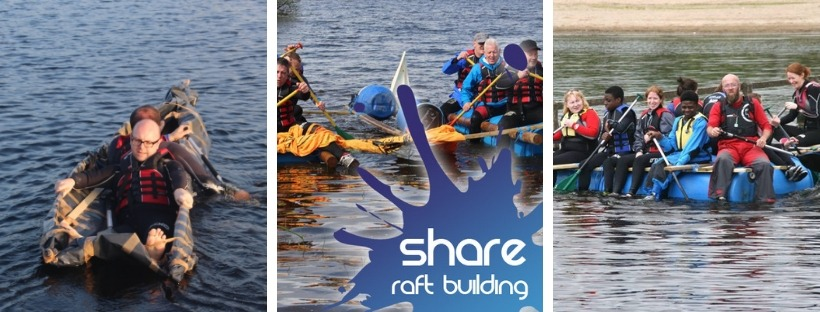 Raft Building at Share Discovery Village