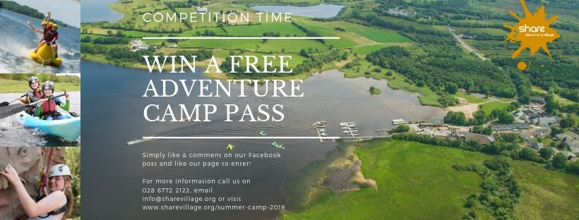 Competition – Free Adventure Camp this July!