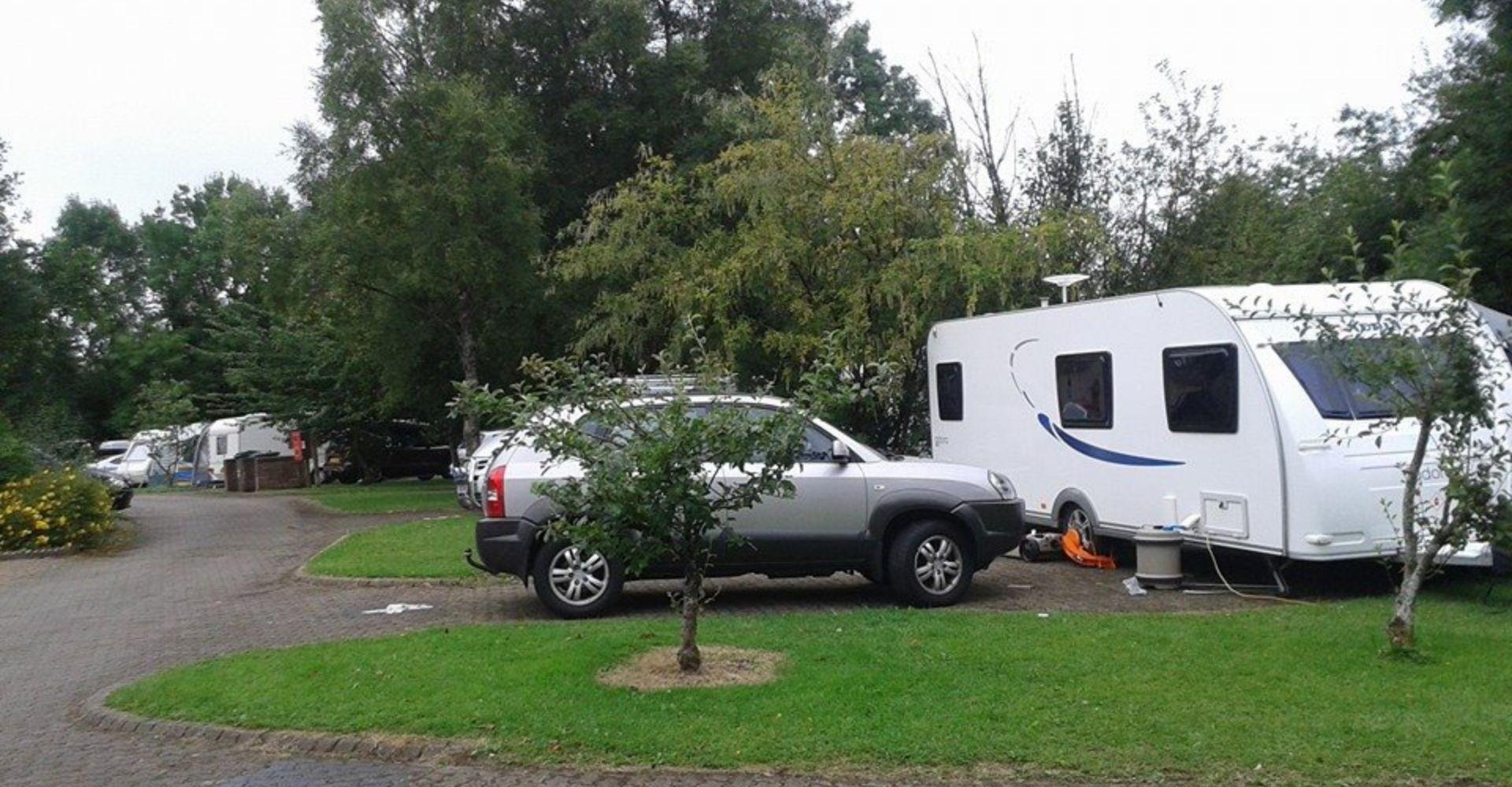Caravan Park near Cuilcagh Mountain