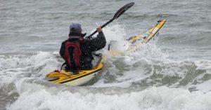 Shooter Kayaking around Ireland
