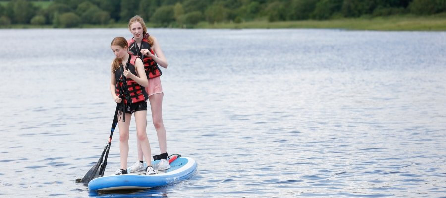 Awesome Family Activity Holidays SUPing