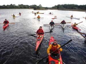 Kayaking on Upper Lough Erne Fermanagh