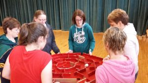 Pinball Team Game for Groups