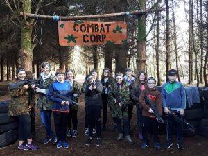 Kids Birthday Enjoying Combat Corps