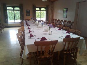 Dining Room for Cruise Dinner