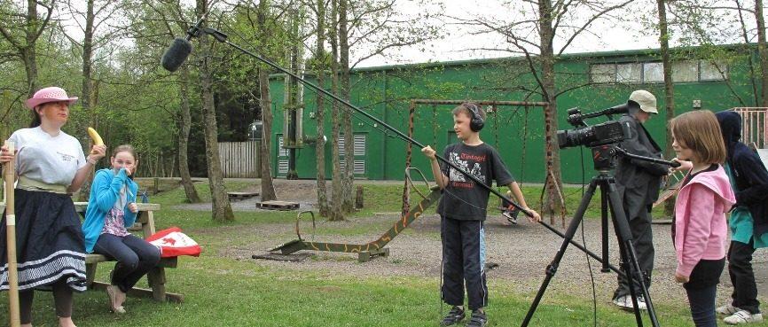 Primary School Residential Trips Film Making