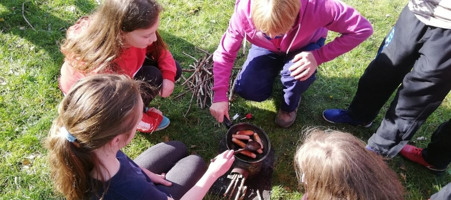 School Activity Breaks - Learning to Cook outside the classroom