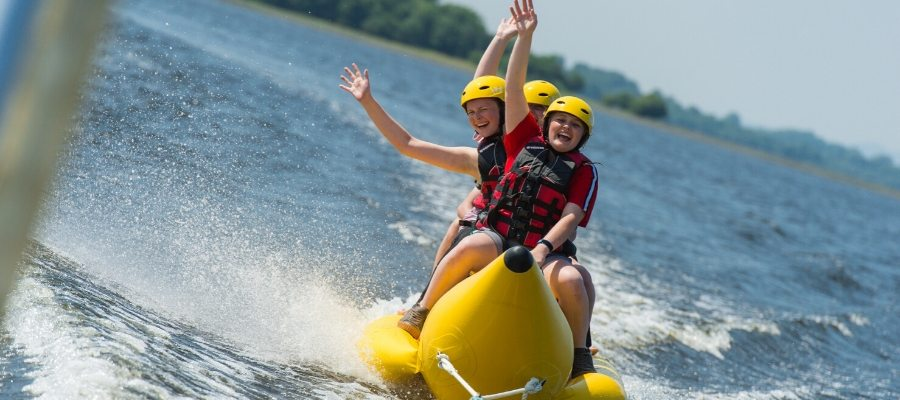 School Activity Residentials - Banana Boating