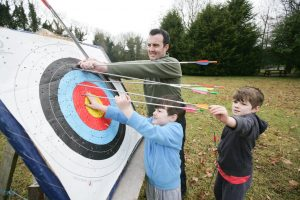 Share Discovery Village Archery - things to do with kids