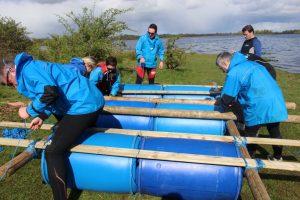 Raft Building Outdoor Team Building Activities