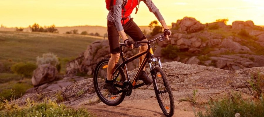 mountain biking - outdoor activities while self-isolating
