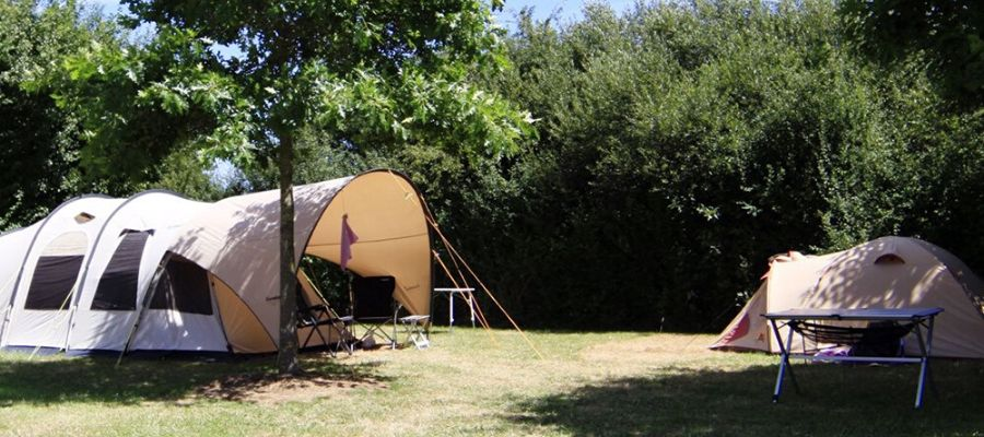 garden camping - outdoor activity while in self-isolation