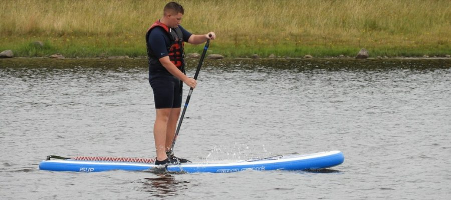 water activities while in self-isolation - SUP