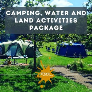 Camping Water and Land Activities Package