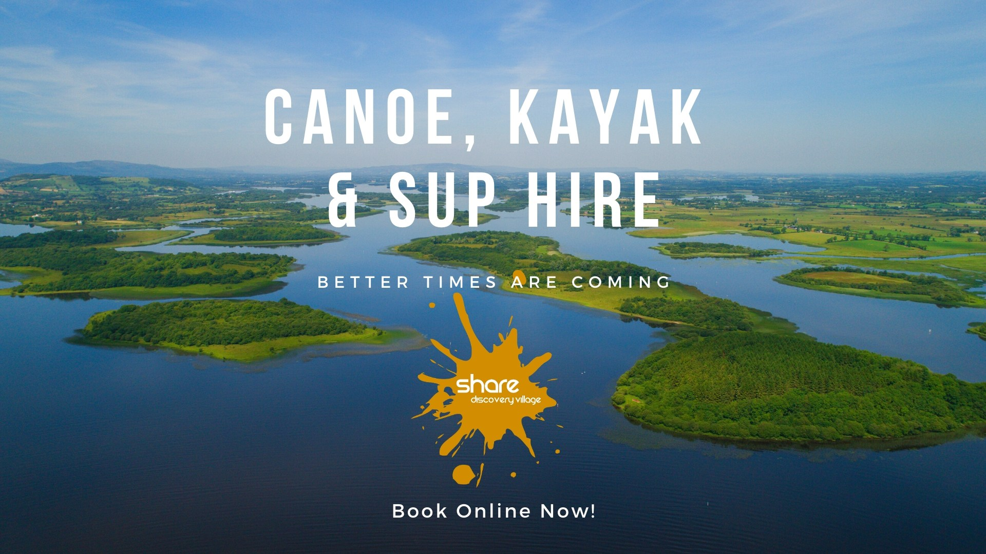 Canoe, Kayak and Stand Up Paddleboard Hire