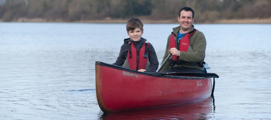 Fun Family Activities Fermanagh canoeing