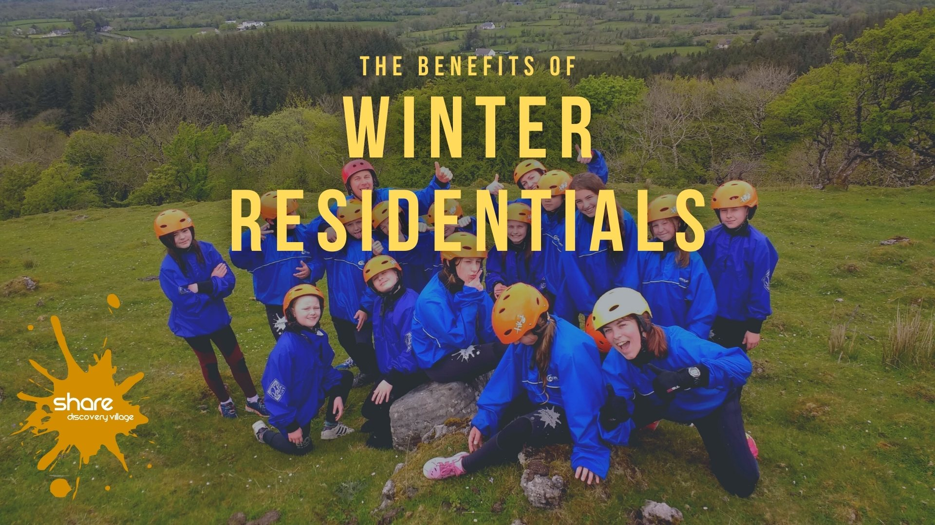 Benefits of Winter Residentials for Schools & Youth Groups