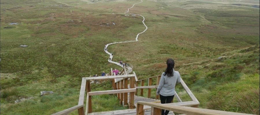 Walk Cuilcagh mountain on Fermanagh Self Catering Holiday
