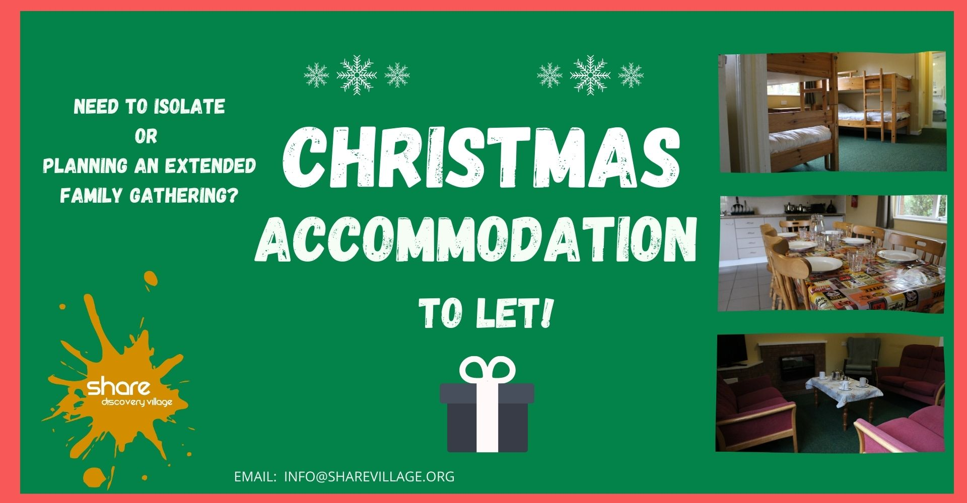Christmas Accommodation