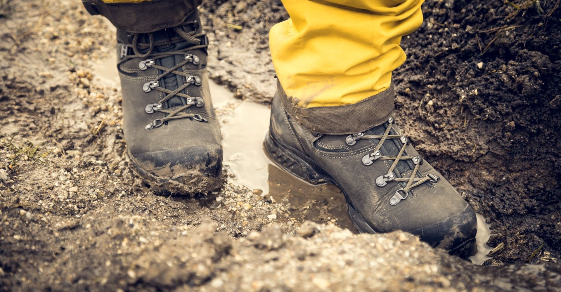 self catering holiday packing list - hiking boots